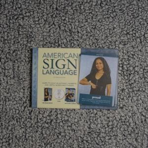 Other - American Sign Language Book Flashcards DVD